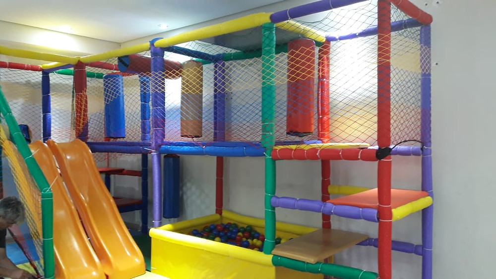 Brinquedoteca completa para academias, condomínios, comércio, escola e hospitais