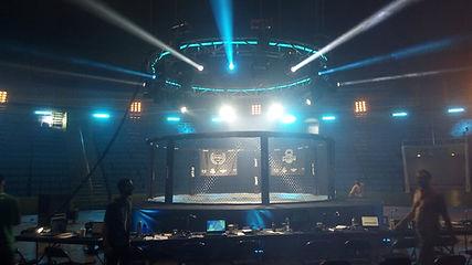 octógono fabrica ringue star fit ufc evento equipamento naja adidas decathlon centauro artes marciais jiu-jitsu muay thai boxe