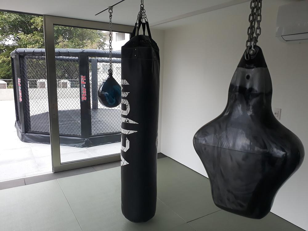 octógono de mma e jiu-jitsu para instalação residencial e privado