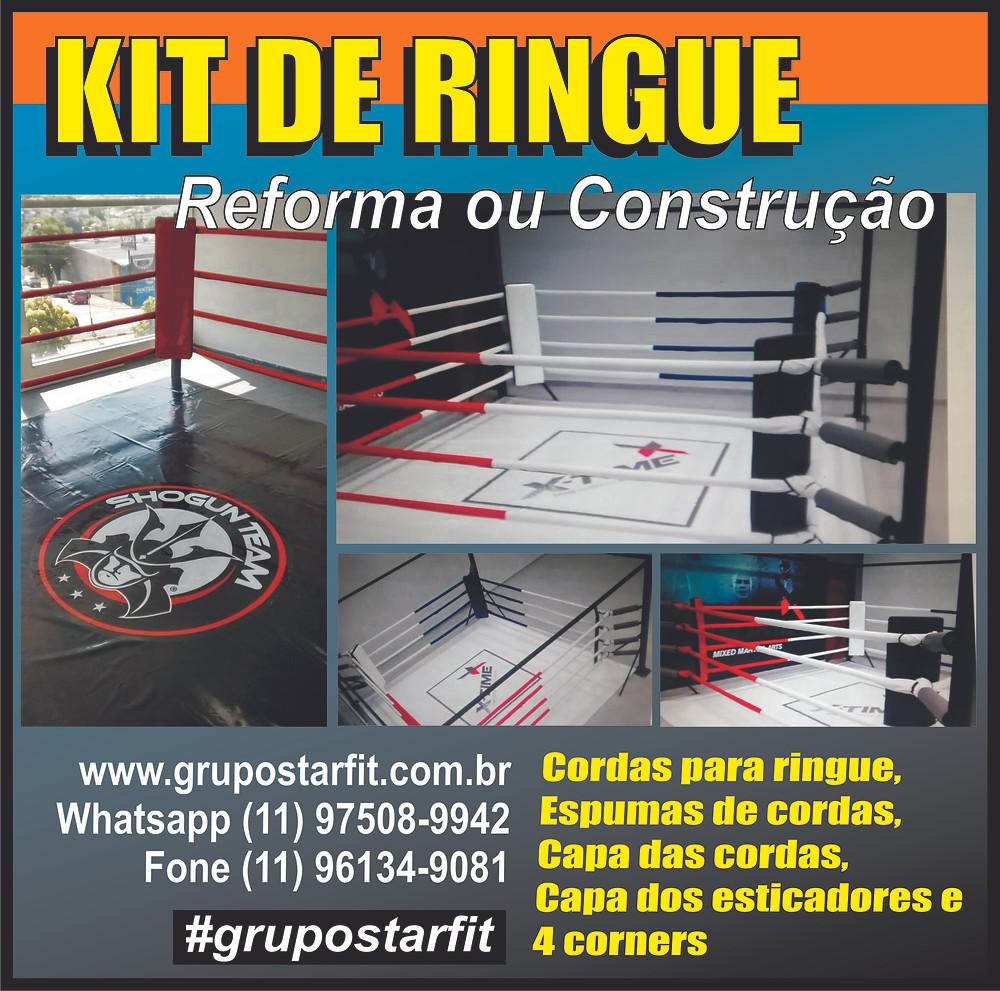 kit de ringue para reforma ou fabricação de ringue novo