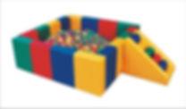 Piscina de Bolinha Profissional almofadad, brinquedao, brinquedo, kids, play ground, fabrica de brinquedo, espaço kids, piscina de polinha, pula-pula, trampolim, cama elástica, rede de proteção, briquedo, brinqkedão, área de crianças