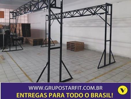 TRILHOS PARA SACOS DE PANCADAS DÃO VERSATILIDADE ÀS ACADEMIAS
