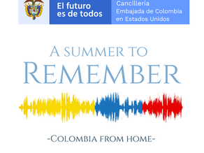Lets not forget this summer…. A summer with us in Colombia