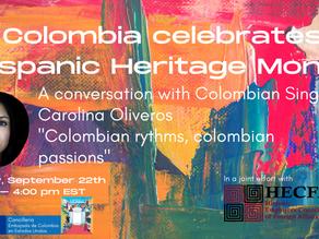 Colombia celebrates Hispanic Heritage Month