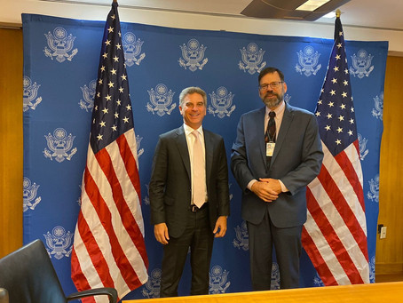 Minister of the Environment and Sustainable Development completed successful agenda in Washington