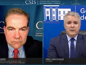 President Duque Discusses Move to Grant Temporary Legal Status to Venezuelan Migrants at CSIS
