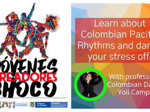 Ever try to dance to pacific rhythms from Colombia?