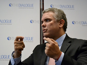 A Conversation with President Iván Duque and Inter-American Dialogue