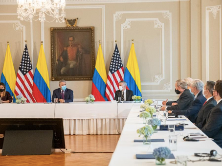 President Duque Met with Bipartisan Group of U.S. Senators