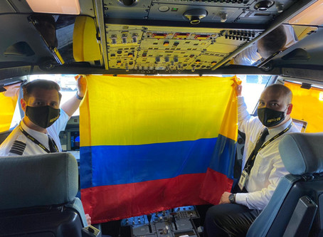 Commercial Flights Between Colombia and the United States Resume