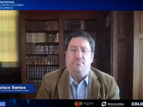 New expectations of trade between Colombia and the United States, with Ambassador Santos