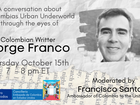Colombia's Urban Underworld: Through the eyes of Jorge Franco