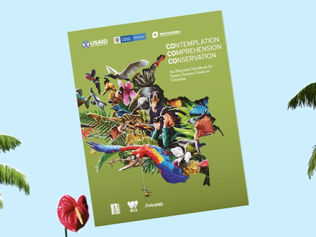 Colombia launches its first illustrative handbook for nature tourism guides