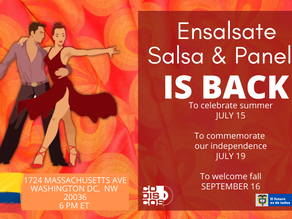 Ensálsate, Salsa & Panela is back !!!