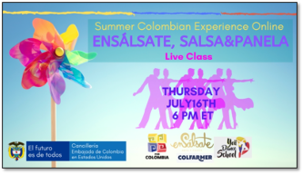 Dust Off Your Dancing Shoes! Salsa Lessons Return on July 16th at 6:00PM ET
