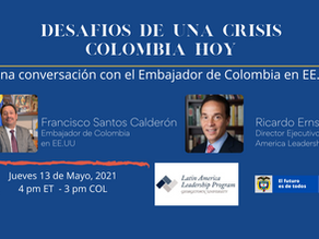 Challenges of a Crisis: Colombia Today
