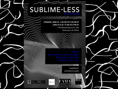 Experience SUBLIME-LESS: An artistic interpretation from Colombia and Chile
