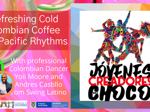 Dance and enjoy refreshing cold Colombian coffee