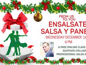 Ensalsate, Salsa & Panela: Special Christmas Edition