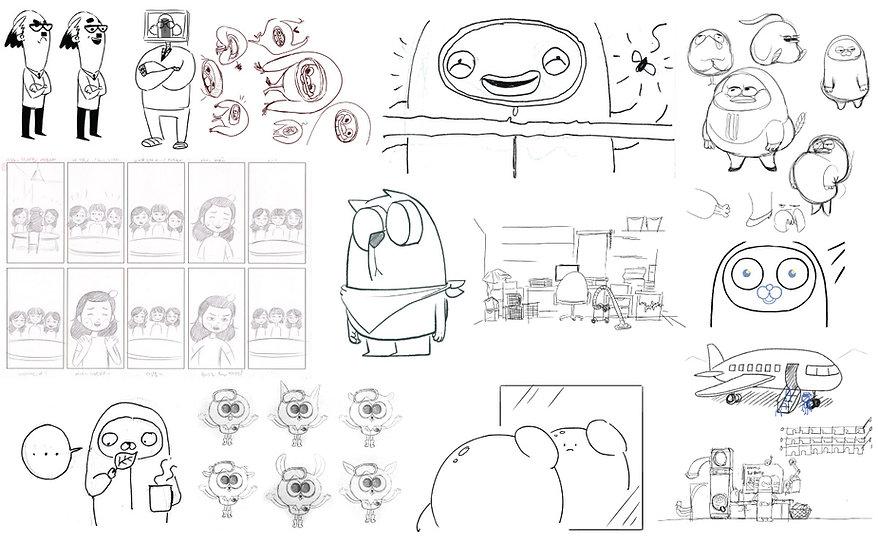 스케치모음.jpg