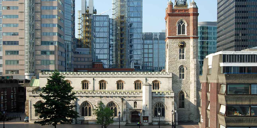 Play in The Barbican for Rev Katharine Rumens' Retirement Service