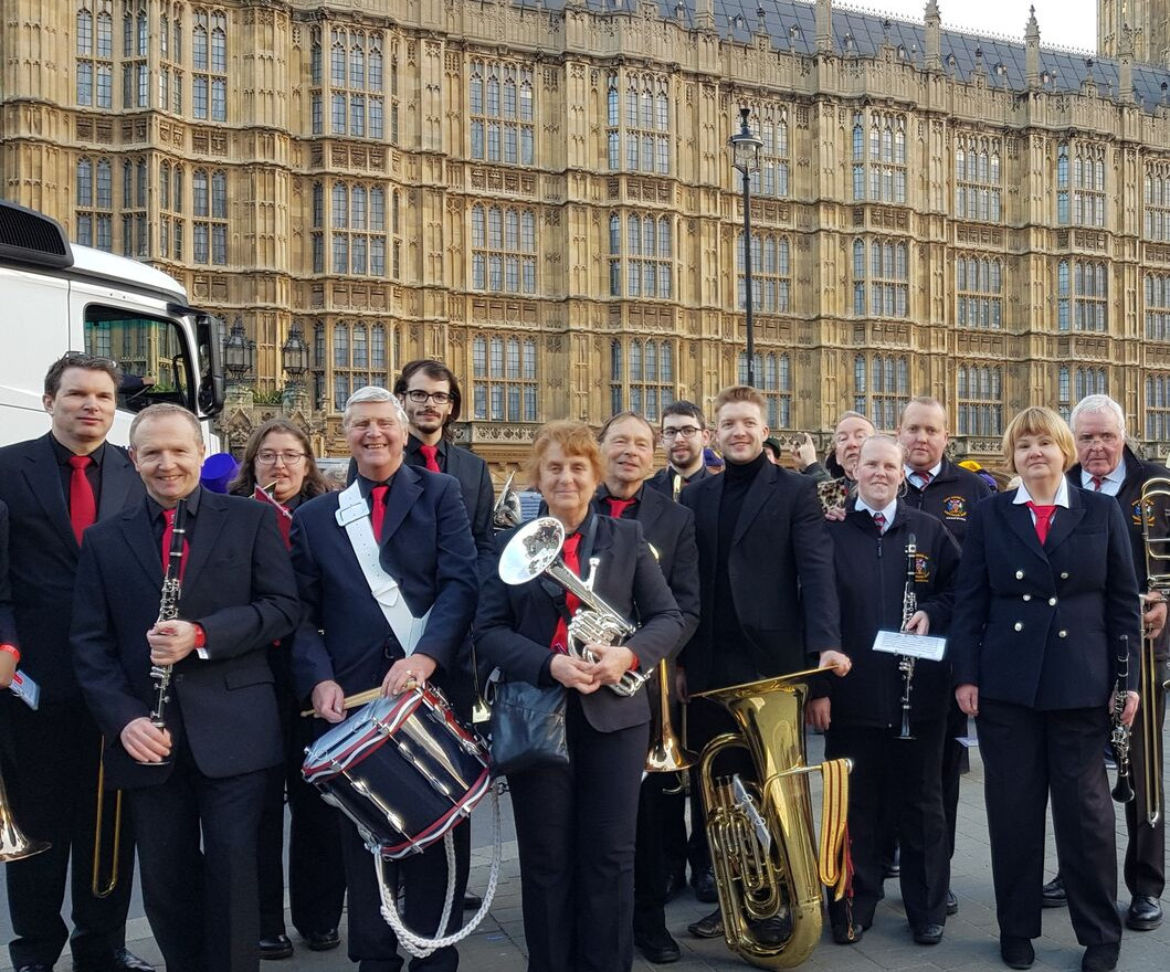 North London Brass on London's New Year's Day Parade 2019
