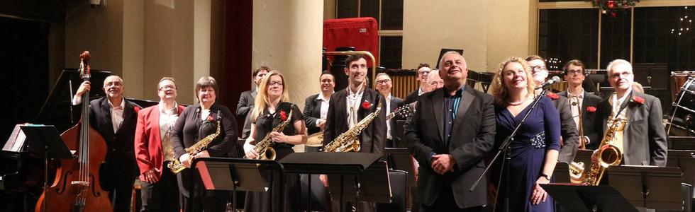 English Jazz Orchestra London at St John's Smith Square Jan 2018