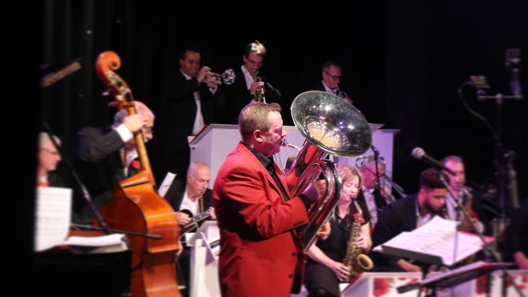 English Jazz Orchestra: Dugdale Theatre, Enfield, Dec 2019