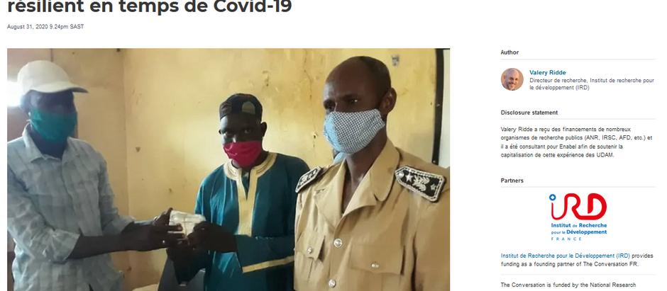 Sénégal : un modèle d'assurance santé résilient en temps de Covid-19