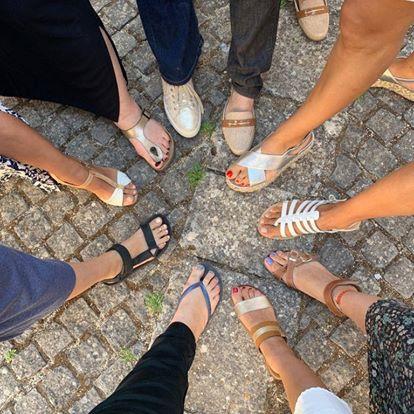 Ploaghe foot fashion