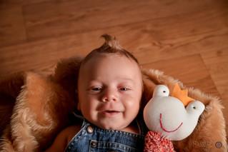 O pequeno Artur - 1 mês
