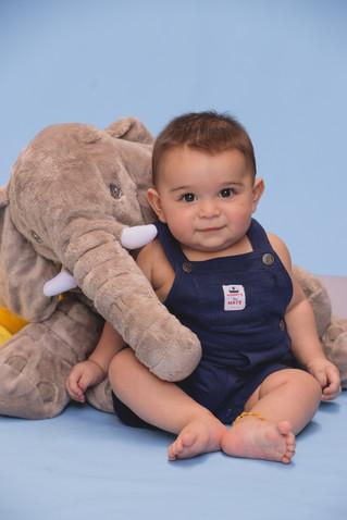 6 meses do pequeno Giovanni