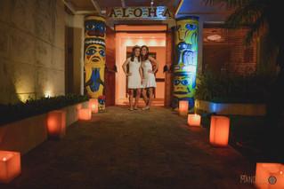 Aloha!!!! 15 anos Paty e Fer