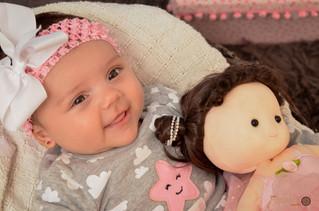 A pequena Elis - 3 meses