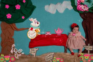 Ensaio Imaginação - Alice 3 meses