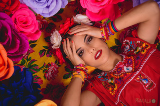 Viva La Frida - Editorial de Moda Carol Garcia