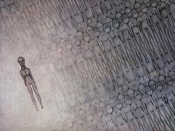 Dessin texture humain | Adrien Dusilence