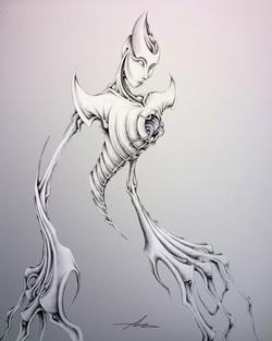 Dessin | illustration | Mystique | Adrien Dusilence