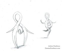 Dessin couple unis | Adrien Dusilence