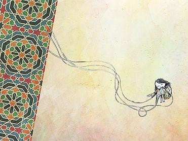 Anissa - album illustré - Adrien Dusilece - Dessins du silence - ilustrado