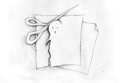 Dessin | illustration | Papier ciseaux | Adrien Dusilence