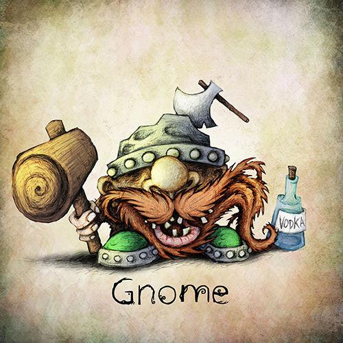 Gnome | Jeu de rôle | Adrien Dusilence
