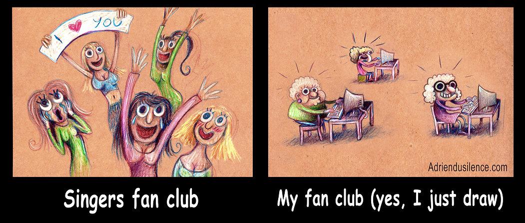 My Fan Club | Adrien Dusilence