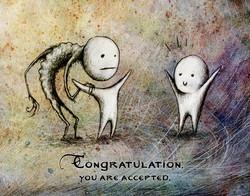 Dessin | illustration | congratulation | Adrien Dusilence