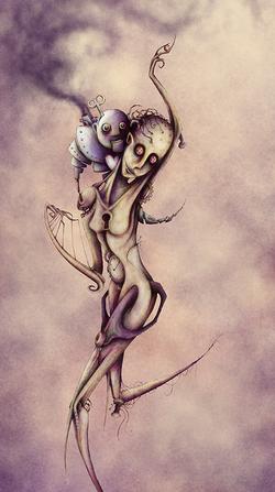 Illustration Dessin poupée | Adrien Dusilence