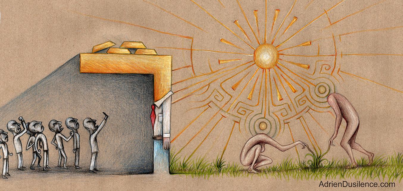 Le mythe de la caverne.