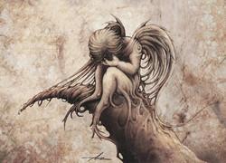 Dessin illustration petit ange | Adrien Dusilence