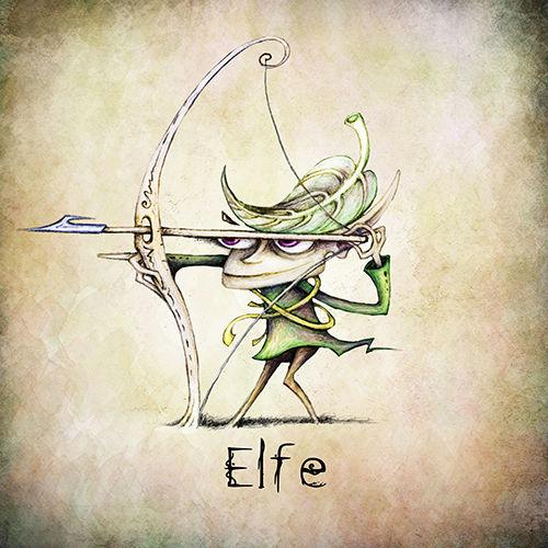 Elfe | Jeu de rôle | Adrien Dusilence