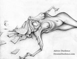 Dessin mémoire perdue | Adrien Dusilence