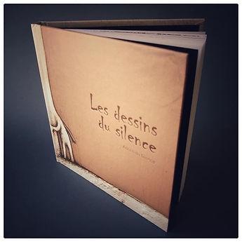 Livre - Adrien Dusilence - Dessins du silence